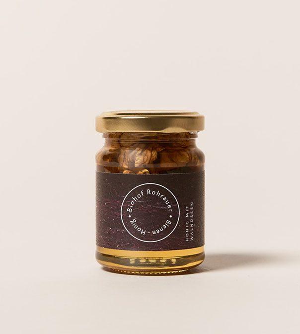 Honig mit Walnüssen 165g